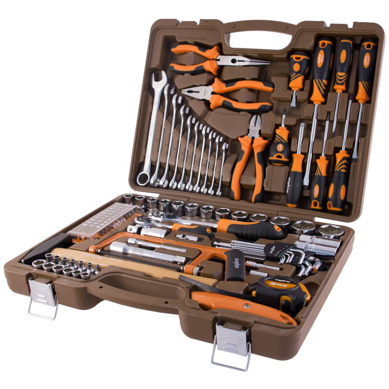 Универсальный набор инструмента 101 предмет OMT101S Ombra - фото 1