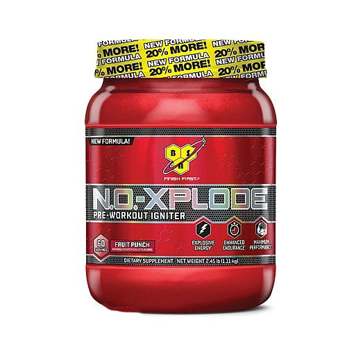 N.O.-XPLODE Pre-Workout Igniter New Formula! 30 serv.555 g