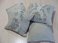 Комплект подушек серые 4шт , фото 1