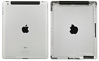Корпус для iPad 3, серебристый, (версия Wi-fi)