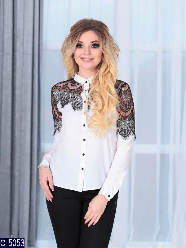 Элегантная  женская блузка Размер: 42, 44, 46, 48