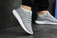Мужские кроссовки Adidas Tubular Shadow Knit серые / кроссовки мужские адидас тубулар