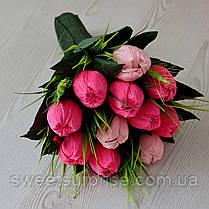 """Букет из конфет к 8 Марта """"Тюльпаны"""", фото 2"""