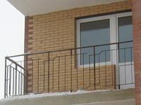 Ограждения балконные