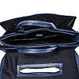Кожаный портфель DESISAN, фото 6
