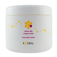 Kaaral Royal Jelly Cream (004 А) - реконструирующая маска для волос с пчелиным маточным молочком. 500 мл