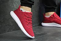 Мужские кроссовки Adidas Tubular Shadow Knit бордовые / кроссовки мужские адидас тубулар