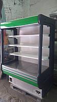 Холодильный регал СOLD 1,6 м. б.у. холодильная горка бу., фото 1