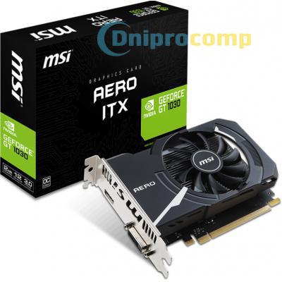 Видеокарта MSI GeForce GT1030 AERO ITX 2G OC