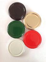 Крышка твист-офф, 82 мм, золотая, красная, белая, черная