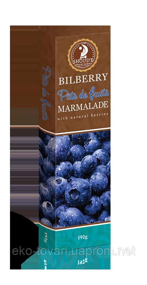 Мармелад Pate de Fruits Черника 192г
