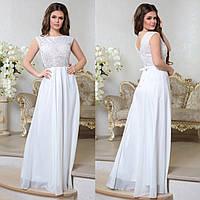 """Вечернее, свадебное длинное платье, платье на роспись """"Лилея"""""""