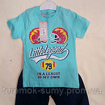 Костюм для мальчика летний размер 92-98.98-104.104-110.110-116 Турция