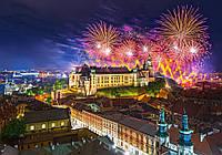 Пазлы Castorland Фейерверк над замком Вавель Польша 52721, 500 элементов