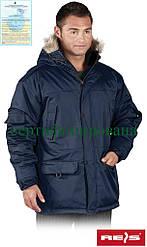 Куртка утеплена з капюшоном робоча Reis Польща (зимова робочий одяг) GROHOL G