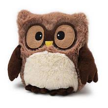 Іграшка-грілка коричнева Сова