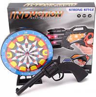 Детский револьвер с дартсом 369-19