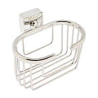 Корзинка для ванной комнаты из хромированной стали Kamille KM-8807