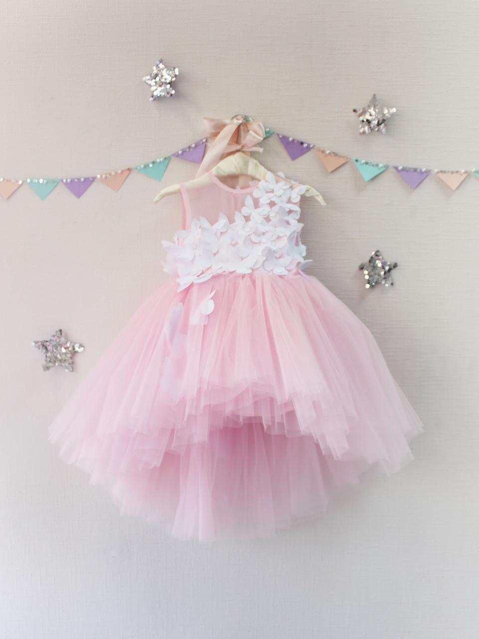 0f25af9e900 Детское платье с бабочками