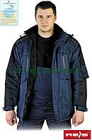 Зимняя куртка рабочая с капюшоном Reis Польша (рабочая утепленная одежда) WIN-BLUBER GB