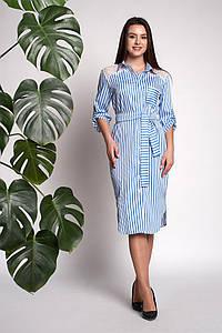 Платье Моника 0311_1 Голубое