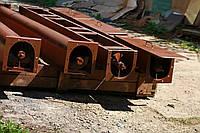 Шнековый транспортер в лотке в (желобе) 300 мм, длиной 10 м, 13 кВт