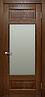 Межкомнатные двери массив дуба TP-042 со стеклом, фото 2