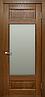 Межкомнатные двери массив дуба TP-042 со стеклом, фото 3