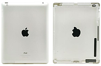 Корпус для iPad 4, серебристый, (версия Wi-fi)