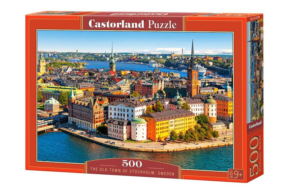 Пазлы Castorland Стокгольм. Швеция 52790, 500 элементов