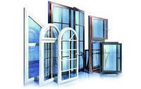 Металлопластиковое ПВХ окно Aluplast Ideal 4000, 1300x1400, 5камерное