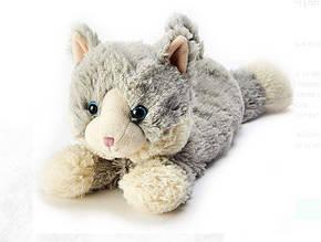 Іграшка-грілка Кошеня сірий