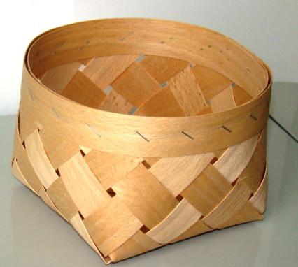 Плетённые формы из дерева (шпона) 110*90 мм