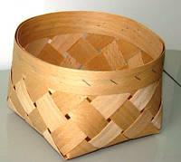 Плетённые формы из дерева (шпона) 110*90 мм, фото 1