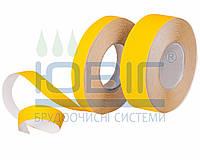 Антискользящая лента грубая зернистость желтая 25мм. Safety-Grip