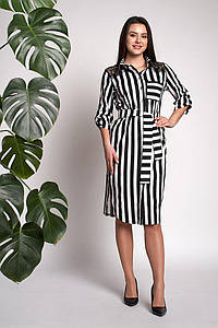 Платье Моника 0311_4 Чёрное