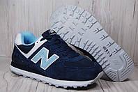 New Balance подростковые кроссовки натуральный замш+текстиль, фото 1