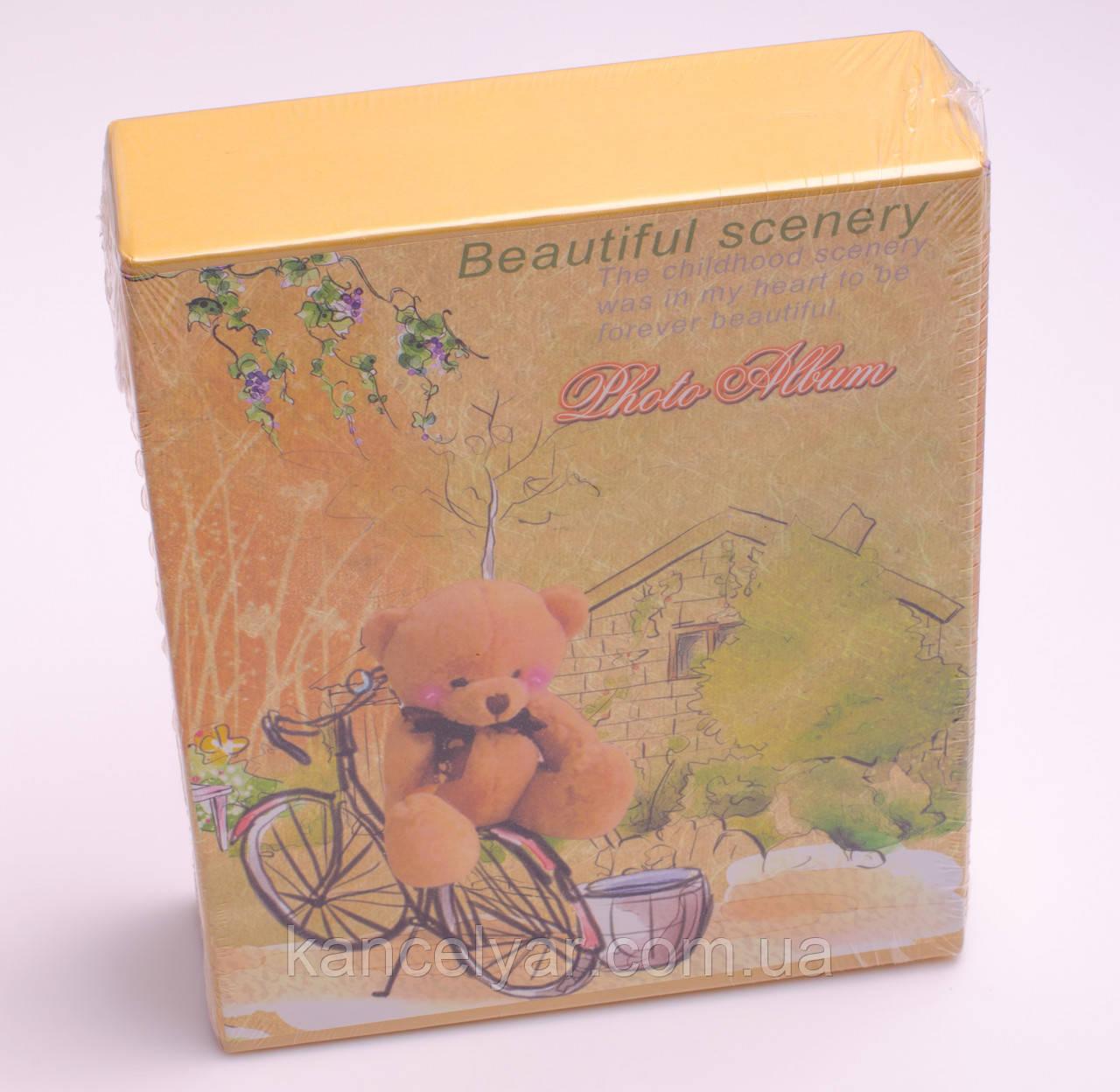 Фотоальбом дитячий в коробці: 40 фото, 10х15 см