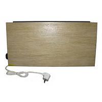 Горизонтальний обігрівач для ванної Венеція з терморегулятором, коричневий