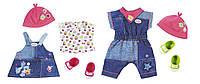 Набор одежды для куклы BABY BORN - МОДНЫЙ ДЖИНС  (2 в ассорт., цена за 1 ед.)***