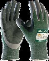Защитные перчатки от порезов с кожаным покрытием на ладони MaxiCut® 34-450 LP