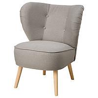 IKEA GUBBO Кресло, светло-серый  (703.449.66)