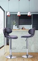 Барный стул Cantal черный, фото 2