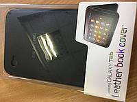 Оригинальный кожаный чехол для Samsung P1000 Galaxy Tab (EF-C980NBECSTD) Black