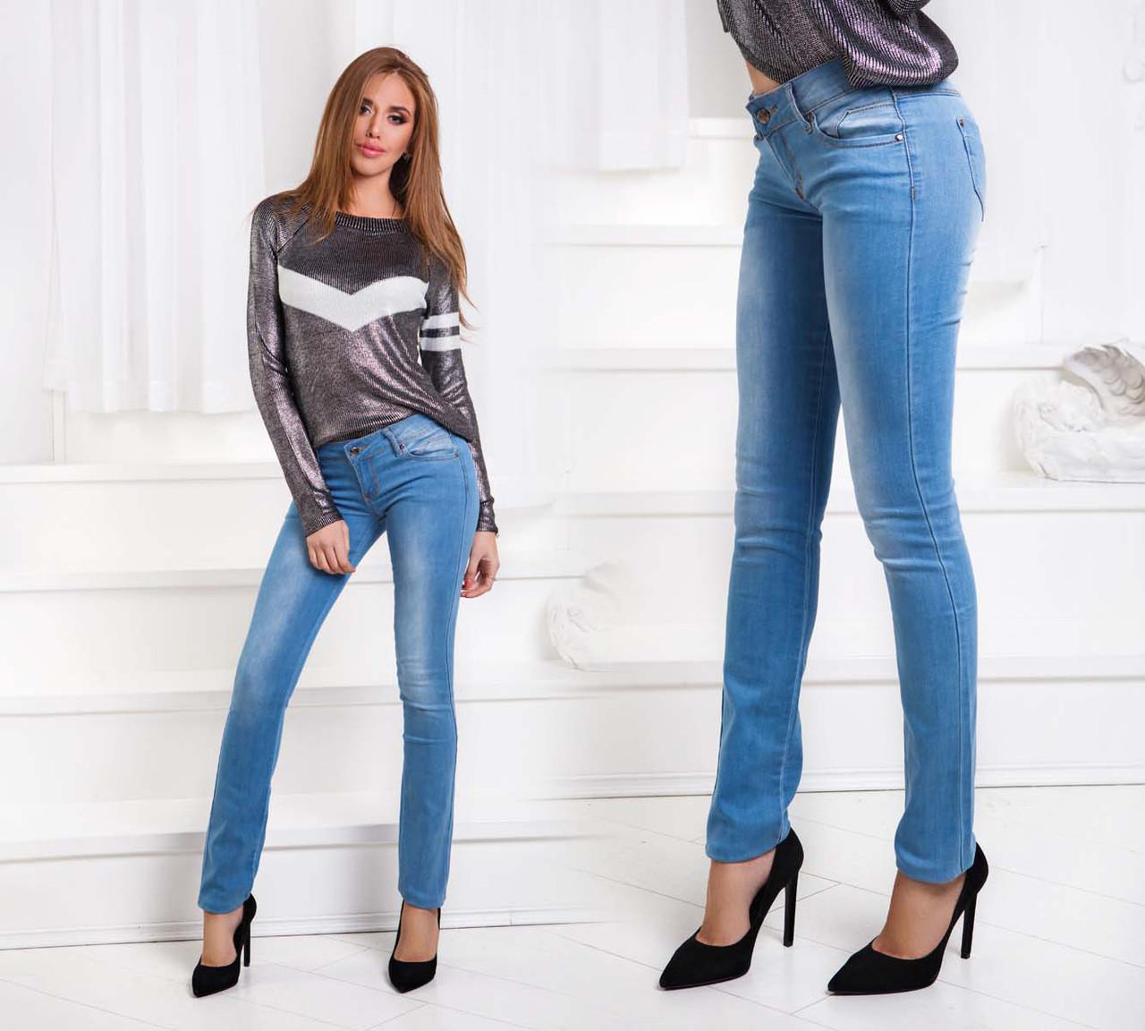 """Женские летние стильные джинсы """"004"""""""