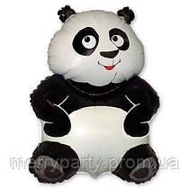 Шар фольгированный Панда мини-фигура