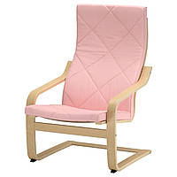 IKEA POANG Кресло, блузы okl, Edum pink  (491.499.81)