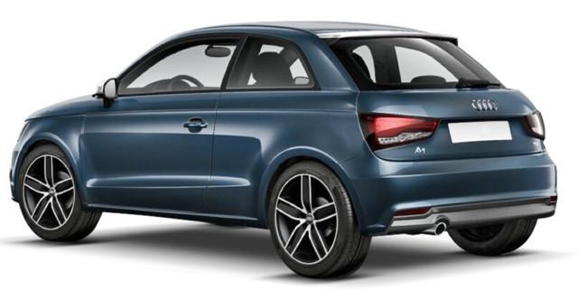 Заднее стекло (ляда) на Audi A1 (2010-), хетчбек, с антенной для радио, с проводкой для сигн-ции