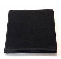 Полотенце для лица Philippus 50*90 см  черное 530 г/м2 100% хлопок