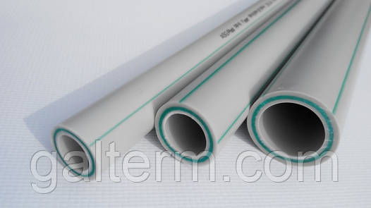 Труба поліпропіленова ASG-Plast PP-R Faser ø32 х 5,4 PN-20 зі скловолокном